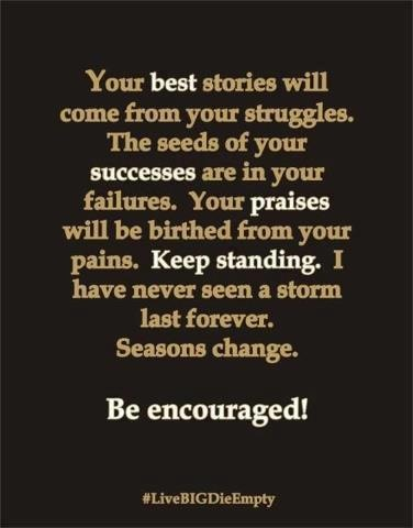 Be Encouraged!