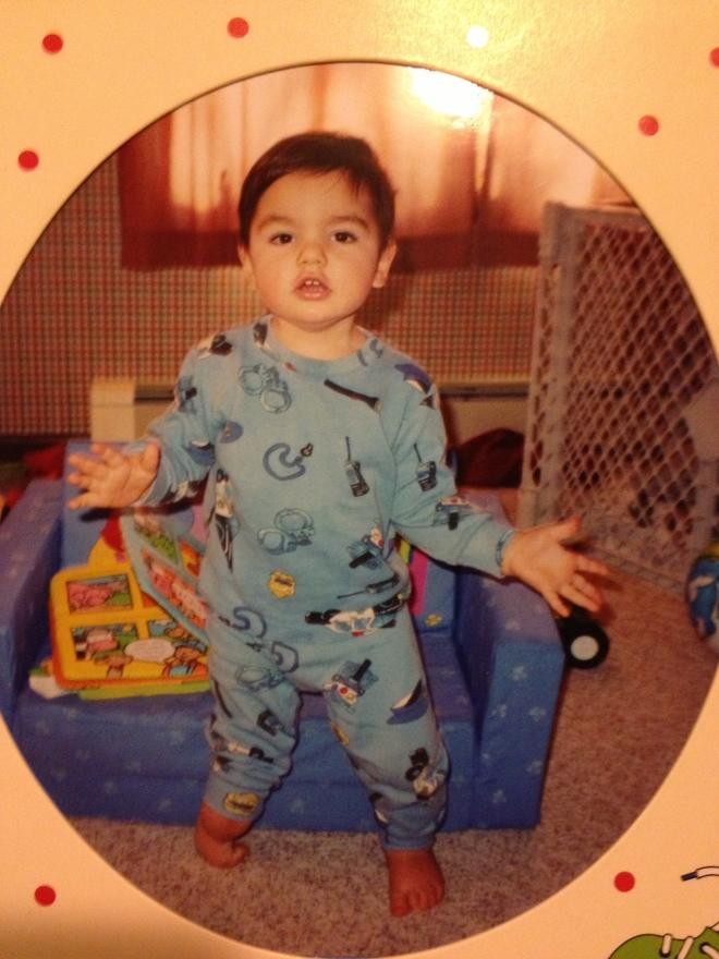 Nicholas at 18 months