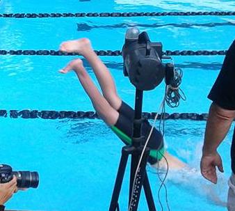 swimmers legs